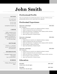 Examples Of Creative Resumes by Examples Of One Page Resumes How To Make Resume One Page How To