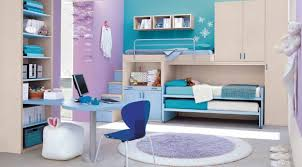 Purple Bedroom Furniture by Purple Teen Bedroom Wall Themes Combined By White Wooden Bed With