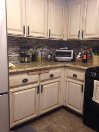 Kitchen Oak Cabinets by Remodelaholic Diy Refinished And Painted Cabinet Reviews