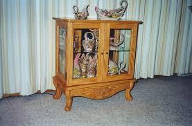 Oak Curio Cabinet Diy Oak Curio Cabinet Create A Family Heirloom Youtube