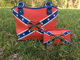 Rebel Flag Home Decor by Redneck Rebel Flag Purse And Wallet Set U2013 All Things Country