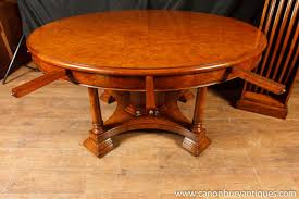 furniture round expandable dining table expanding round dining