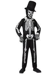 Kids Skeleton Halloween Costume by Boys Skeleton Suit Bond Day Of The Dead Groom Costume Halloween