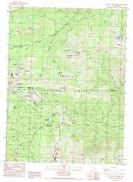 China Topographic Map by Seven Lakes Basin Topographic Map Ca Usgs Topo Quad 41122b4
