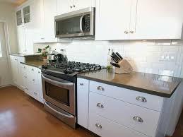 Subway Tile Kitchen Backsplash Ideas Home Decorating Interior - White kitchen backsplash ideas