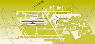 Map Of Detroit Metro Airport by Um Vrl Detroit Midfield Terminal Project