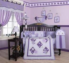 Monkey Crib Set Geenny 13 Pc Crib Bedding Set Lavender Butterfly