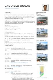 Resume Samples For Experienced Mechanical Engineers by Structural Engineer Resume Samples Visualcv Resume Samples Database