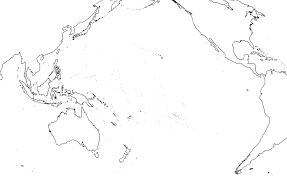 Blank Map Of Oceania by Blank Pacific Ocean Map Image Tips