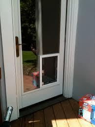catflap in glass door small dog door for sliding glass door