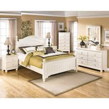 Ashley White Bedroom Furniture Retreat Twin Poster Bed