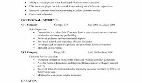 Resume Objective for Customer Service Dawtek Resume and Esay