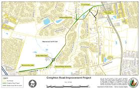 Us Circuit Court Map Creighton Road Improvements Project