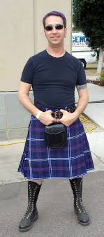 Purple kilt