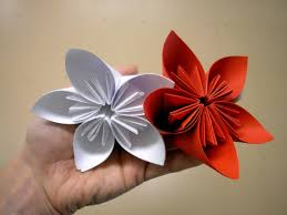 origami flowers for beginners how to make origami flowers very