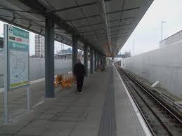 King George V DLR station