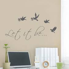 popular travel decal buy cheap travel decal lots from china travel let it be with bird wall decal vinyl art quote travel decal wall decal for