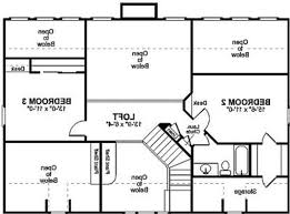2 bedroom open floor house plans gallery also plan houses with