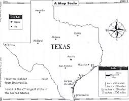 Texas Map Austin by Pse Geo Bee Texas Map Scale