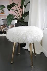 Vanity Stools With Wheels Best 25 Vanity Stool Ideas Only On Pinterest Craft Fur Diy