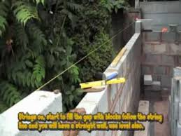 Building A Concrete Block House How To Build A Concrete Block Shed Youtube