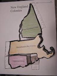 Map Of The New England Colonies by 5th Grade New England Colonies Map Flip Chart Www Betikempa1