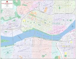Zip Code Map Portland Or by Central Business District Maps Kroll Map Company