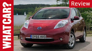 nissan leaf year changes nissan leaf review what car youtube