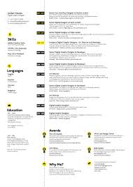 Best Designer Resume by Graphic Design Resume Examples Photography Graphic Design Web