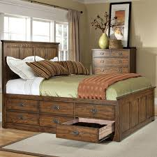 Platform Storage Bed Plans With Drawers by Oak Park King Bed With 12 Storage Drawers By Intercon Bedroom