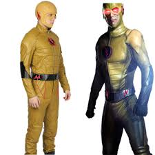 Flash Halloween Costumes Reverse Flash Pu Costume Flash Cosplay U2013 Xcoser Costume