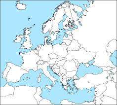 Show Map Of Europe by Empty Map Of Europe Roundtripticket Me