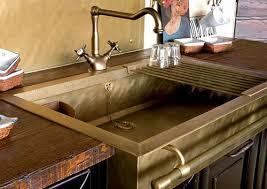 Brass Sinks Bring Old World Charm To The Kitchen Randommization - Italian kitchen sinks