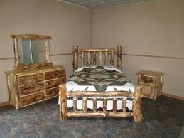 Cedar Bedroom Furniture Red Cedar Queen Bed Aspen Log Furniture Bedroom Rustic Complete