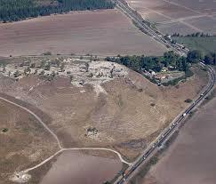 Холм Мегиддо в Израиле