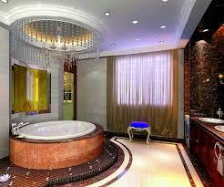 royal master bathroom design with luxury chandelier orchidlagoon com