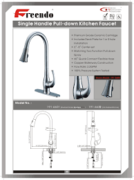 8 Kitchen Faucet Biscuit Installing A Kitchen Faucet Wall Mount Two Handle Side
