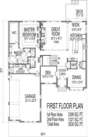 Stone House Plans Bedroom House Plans With Basement Home Design