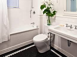 Vintage Bathroom Tile Ideas Black And White Bathroom Designs Bathroom Ideas U0026 Designs Hgtv