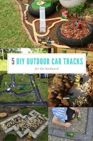 Backyards For Kids by Best 25 Outdoor Car Track For Kids Ideas On Pinterest Play Area