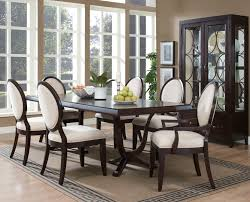 black wood dining room set glamorous decor ideas marvelous design