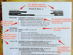 Best College Resumes by Tom Brady Resume Advice Business Insider