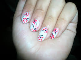 flower nail art image collections nail art designs