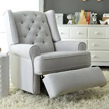 Rocking Chair Recliners Best Chairs Finley Swivel Glider Recliner Gray Tweed Reclining