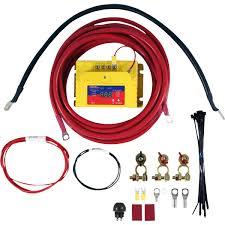 sca 12v dual battery isolator kit supercheap auto