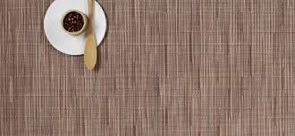 dining room chilewich placemats red brick placemats bamboo