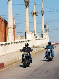 yamaha v star and harley davidson sportster 1100s stuck in the