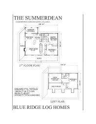 1 Bedroom Log Cabin Floor Plans by Custom Log Homes Blue Ridge Log Homes 540 337 0033