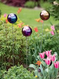 Gazing Ball Fountain Gazing Ball Stake Single Garden Art