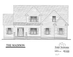 House For Plans by The Madison Four Seasons Contractors 252 462 0022